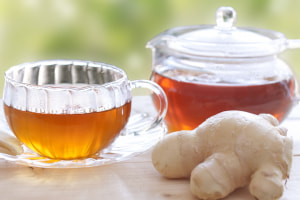 冷えに備える!夏前の冷房対策に飲みたいお茶3つ (1)ジンジャーティー