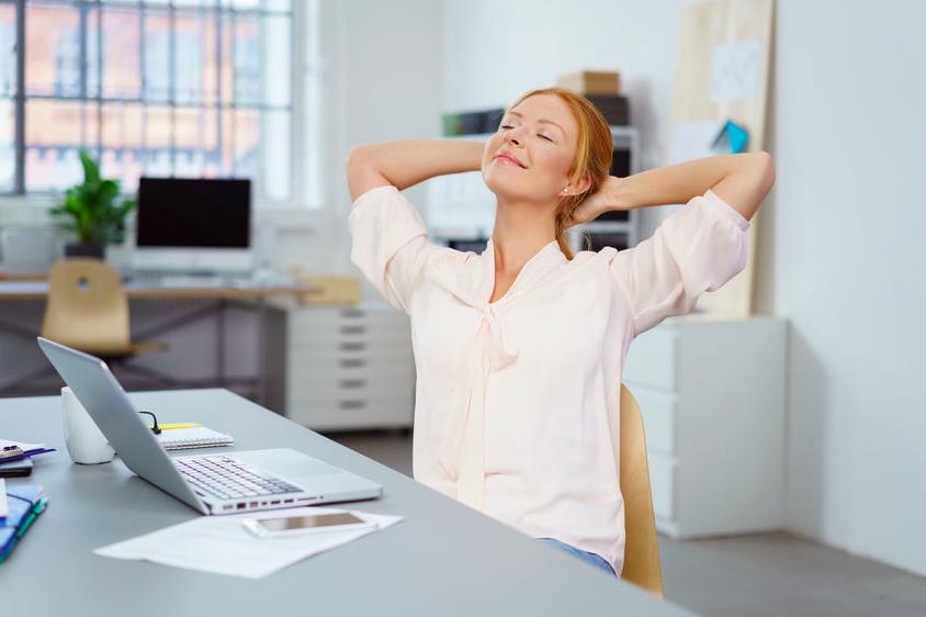 5分で疲れた心を癒す!お昼休みにできる「気持ちリセット法」