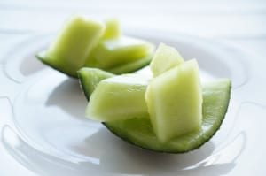 夏の水分補給におすすめの食べもの3つ (3)メロン