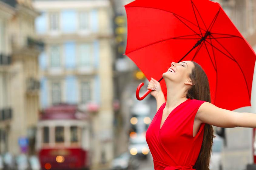 雨でも気分晴れやか!「悪天候の日の開運アクション」テスト