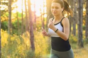 運動による疲れなど、肉体疲労の場合