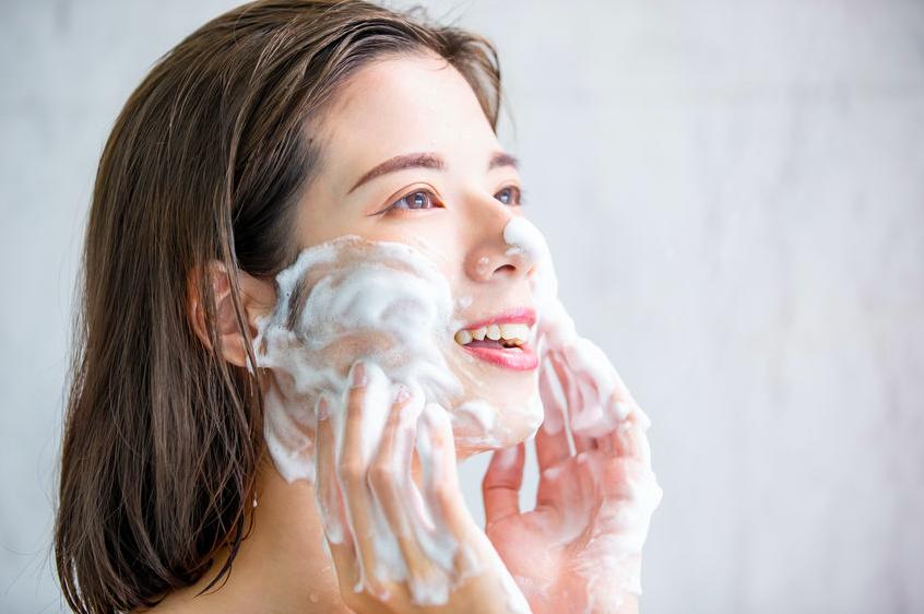 美肌の基本=「泡で洗う」を実現!ふわふわ泡の作り方