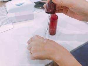 敏感肌のためのシワ改善美容液