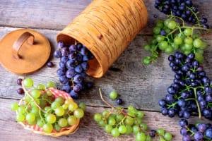 毎日食べたい!美肌になれる秋フルーツ3つ (2)ブドウ