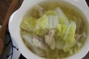 秋うつ?秋バテ?疲れた心身がホッと温まる食べもの3つ (3)白菜スープ