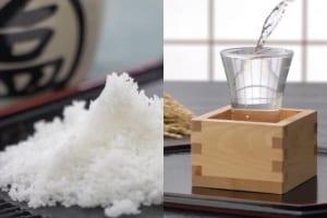 塩+日本酒の組み合わせ
