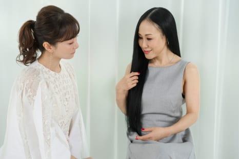 白髪染めをキープするコツとは?毛髪診断士・美香と石井美保が語る!