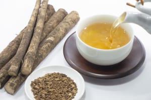 お茶でお正月太り対策を!おせちと一緒に飲みたいお茶3選 (1)ゴボウ茶