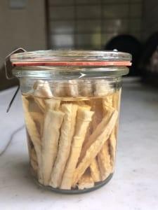 切り干し大根を使った作り置きレシピ3つ (1)切り干し大根の甘酢漬け