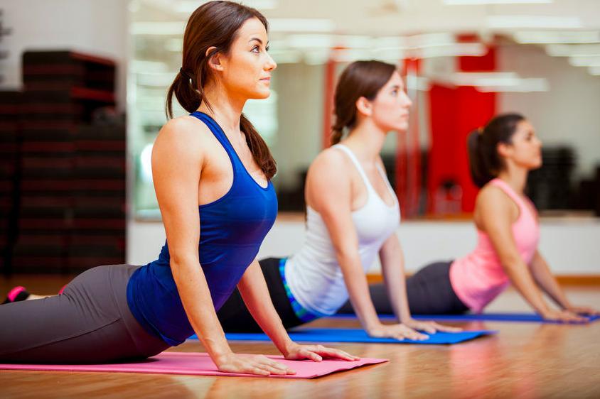 コブラのポーズ yoga