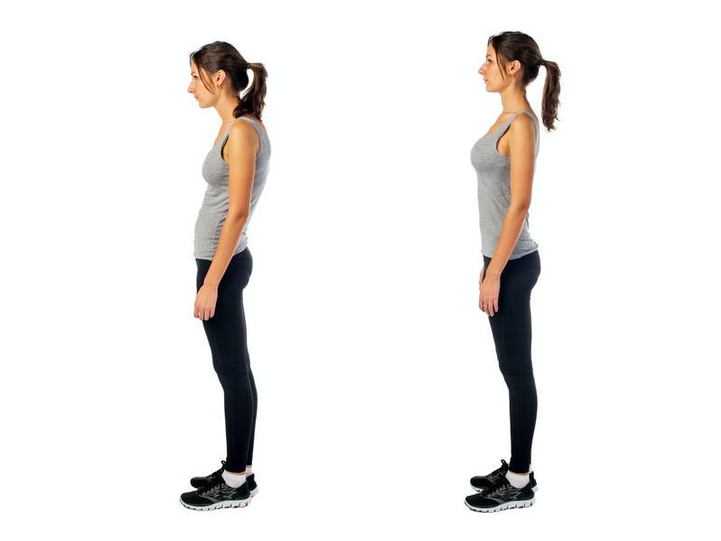正しい姿勢が美ボディを作る!超簡単「美姿勢キープの方法」