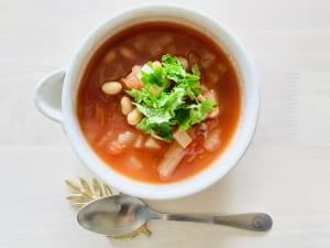 トマト缶で簡単にできる薬膳トマトスープ