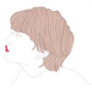 アップやハーフアップスタイルをよくする方におすすめのやり方です。全体にハイライトを入れることで、まとめ髪にした時に白髪が目立ちにくくなります