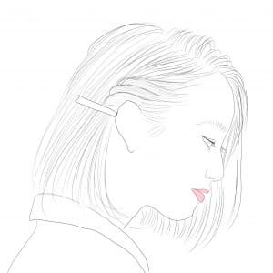 サイドの毛をねじるだけなので、誰でも簡単にとり入れることができるアレンジ法です。リフトアップの強度は弱〜中くらいになります