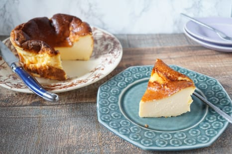 不足しがちな栄養たっぷり!バスク風チーズケーキのレシピ