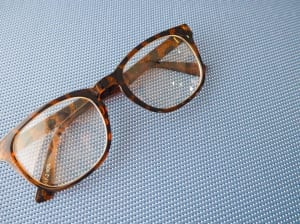 ブルーライトカットの眼鏡