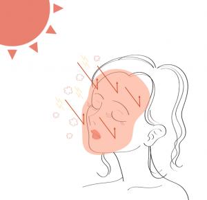 注目すべきは、マルチプロテクションPMベ ール のマルチプロテクション技術によって、紫外線やほ こりなどの外部環境から肌を守る防御機能が備わっていること !