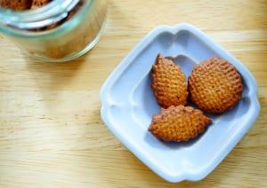 全粒粉で作る「黒糖ハニーミルククッキー」