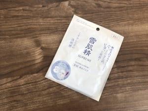 ホワイトリフト マスク/雪肌精シュープレム