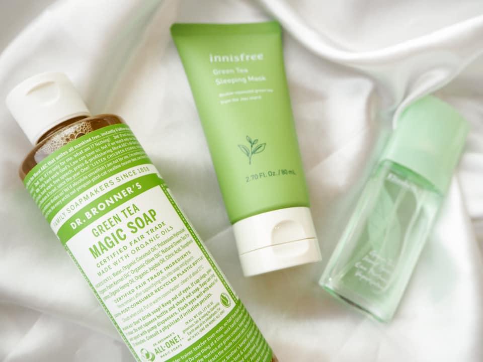 緑茶の香りで気分爽快!さわやかなグリーンティーコスメ3選