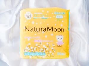 生理用ナプキン 多い日の昼用(羽つき)/ナチュラムーン