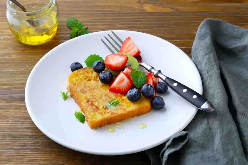 果物たっぷりフレンチトースト