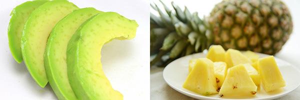 美肌サポートに!冷凍食品で作るスムージーレシピ アボカド&パイナップル