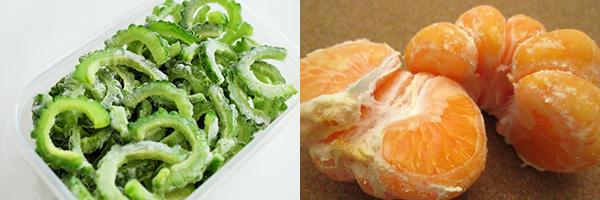 美肌サポートに!冷凍食品で作るスムージーレシピ ゴーヤ&ミカン