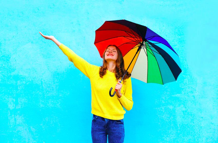 雨でもご機嫌!「梅雨のジメジメ気分撃退法」がわかるテスト