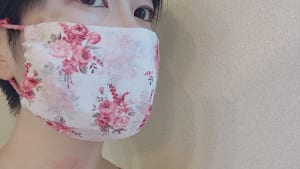 華やかマスクで透明感アップメイク