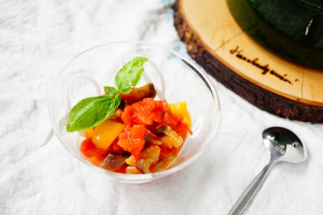 紫外線ダメージをケア!鍋任せで完成!夏野菜のトマト煮込み