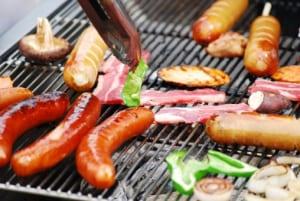 炭水化物、脂質の多い肉から先に食べる