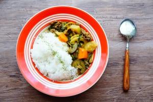 野菜たっぷりスパイスカレーのレシピ