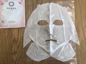 金華ゴールド 3Dモイストマスク サクラ/KINKA