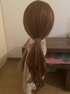 こちらの画像は、つや感のある髪質です。同じヘアスタイルでも品が感じられますよね