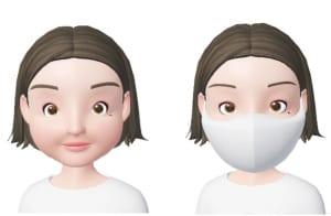 輪郭が丸く頬の肉付きが良い丸顔は、マスクをつけることで顔の輪郭をより強調してしまいます。そのため、いつもより、顔が大きく見えてしまいます