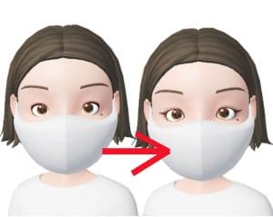 アイラインを目尻から長めに引くことで、目の横幅が長く見えます。目尻から2〜3ミリ長めに引くとナチュラルに仕上がりますよ