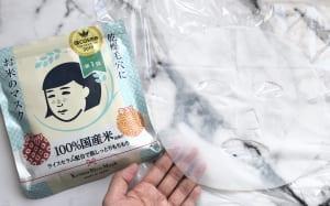 お米のマスク/毛穴撫子