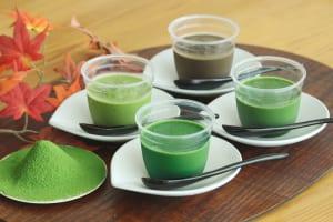 極濃厚4種の宇治茶プリン品種食べ比べセット/D-matcha
