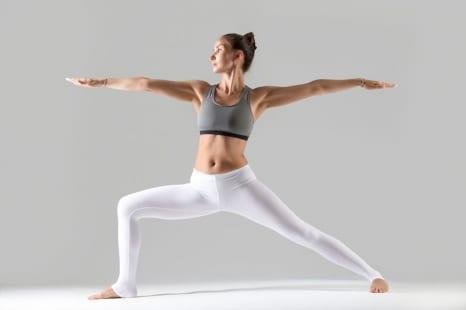 太ももを鍛えてヤセ体質に!代謝アップを目ざすヨガポーズ