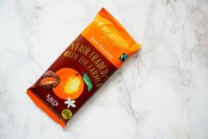 フェアトレードチョコレートオレンジピール