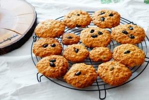 黒豆オートミールクッキー