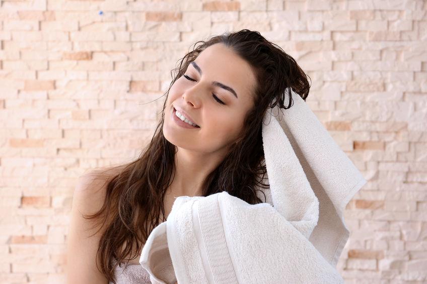髪用タオル