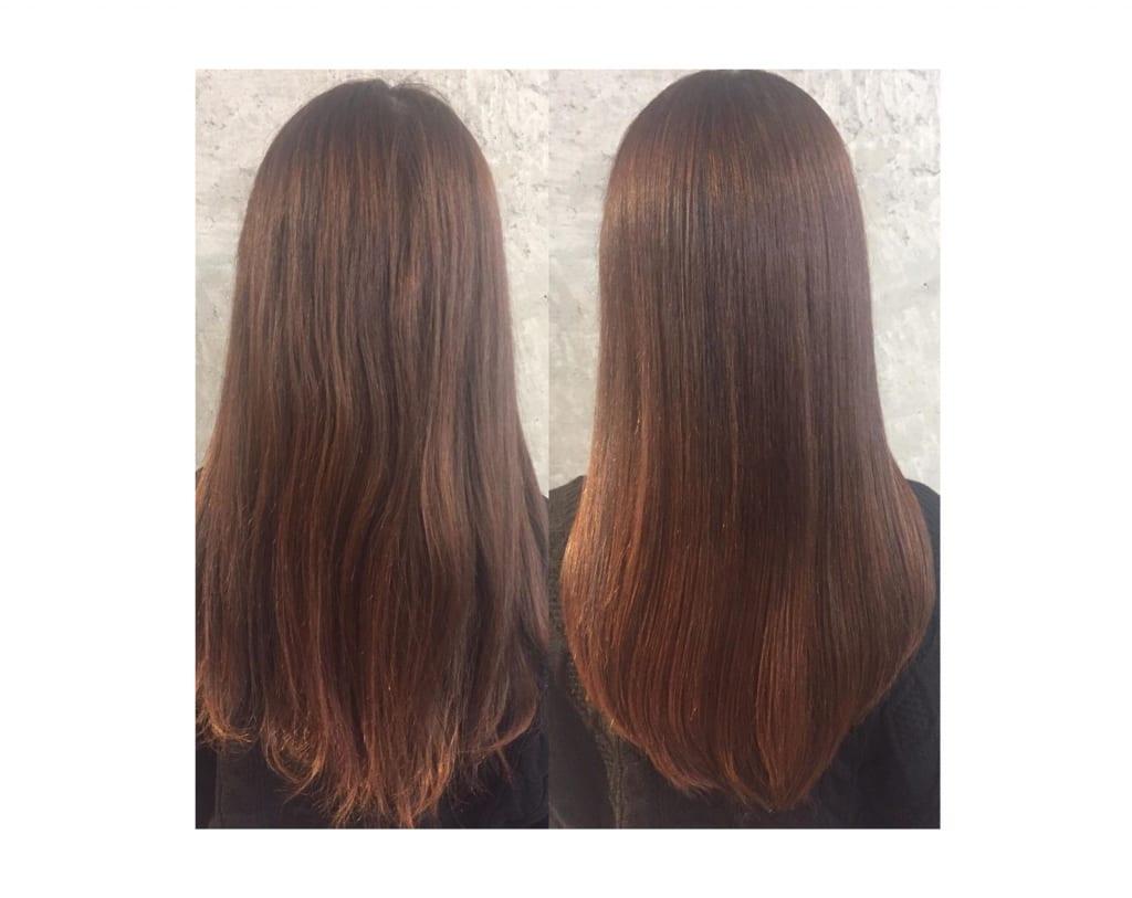 髪へのダメージは最小限!自然にクセを伸ばす髪質改善とは