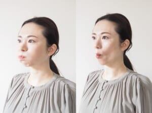 ほうれい線・頬全体のたるみ対策エクササイズ