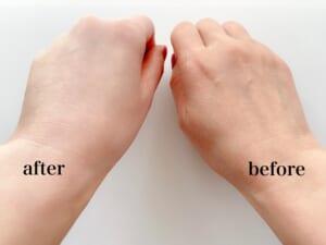 微小パールがおだやかに光を反射して、やわらかな肌印象を与えます。大容量のポンプタイプは家族でシェアしやすく、天然精油の香りは使う人を選びません。