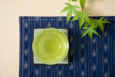 水出しで●●茶の効能UP!免疫力アップに◎なお茶の淹れ方