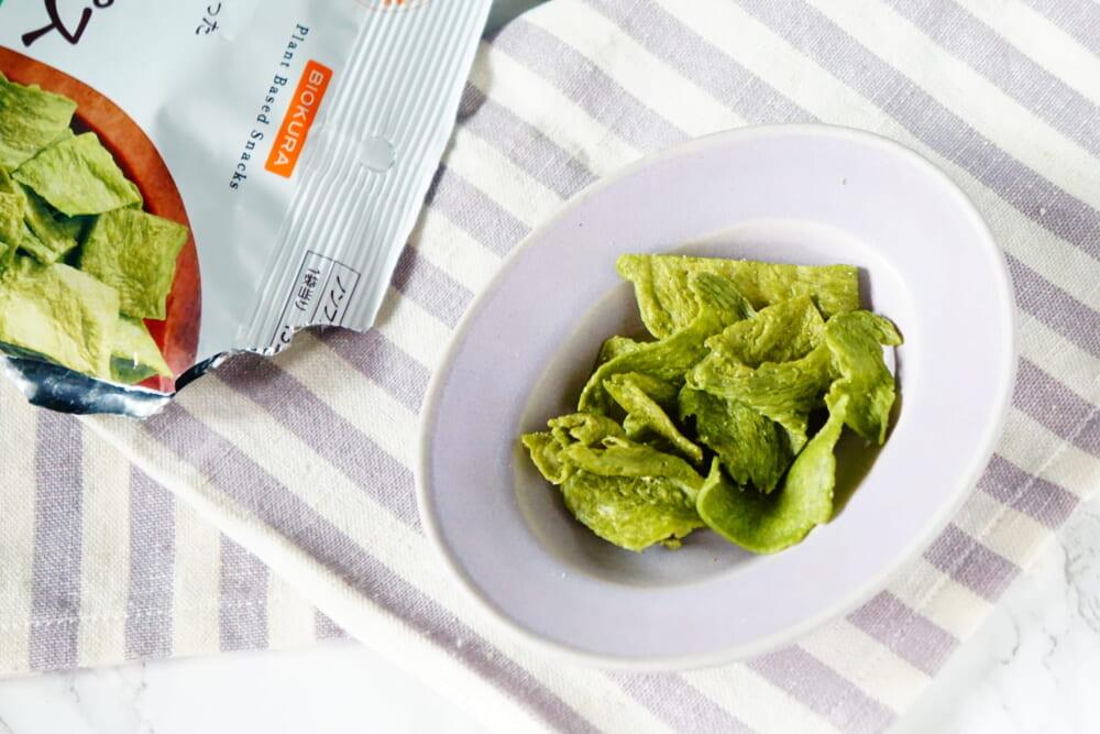 ひと口食べたら手が止まらない美味しさです。「大豆たんぱく質」や「食物繊維」、ほうれん草に豊富な「β-カロテン」などの補給にもおすすめです