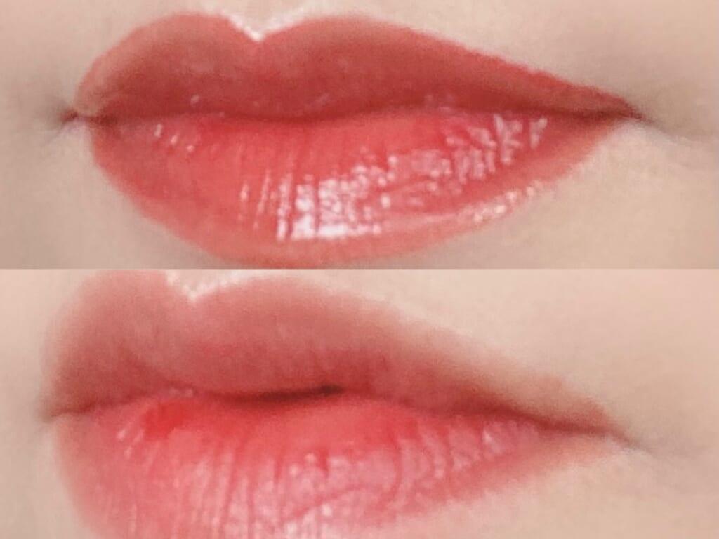時間がたっても、まるで自分の唇の色のよう