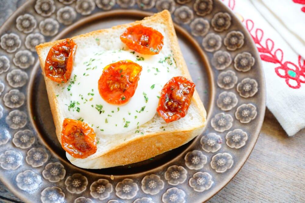 朝トーストでエイジングケア!のせて焼くだけトーストレシピ